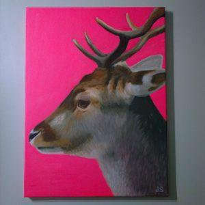 damhert schilderij